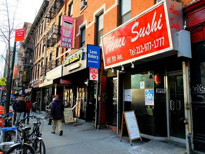 Den bästa sushin i New York - Abace Sushi