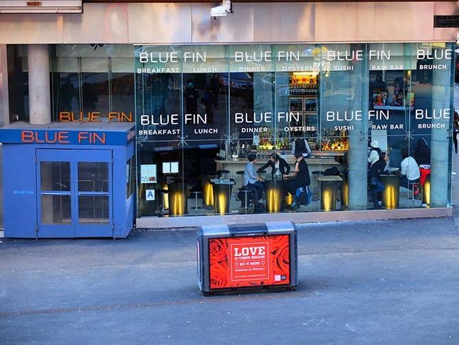 Den bästa sushin i New York - Blue Fin