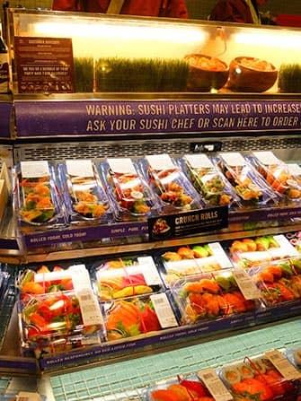 Den bästa sushin i New York - Whole Foods