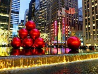 Jul i NYC - Juldekorationer