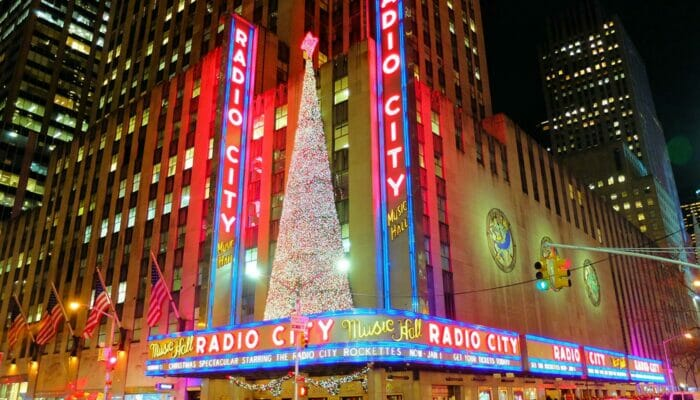 Jul i NYC - Radio City Christmas Spectacular