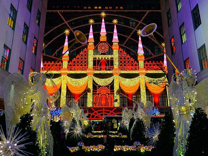 Julsäsongen i New York - Saks