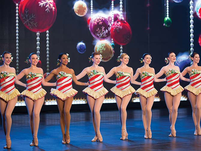 Julsäsongen i New York - Rockettes