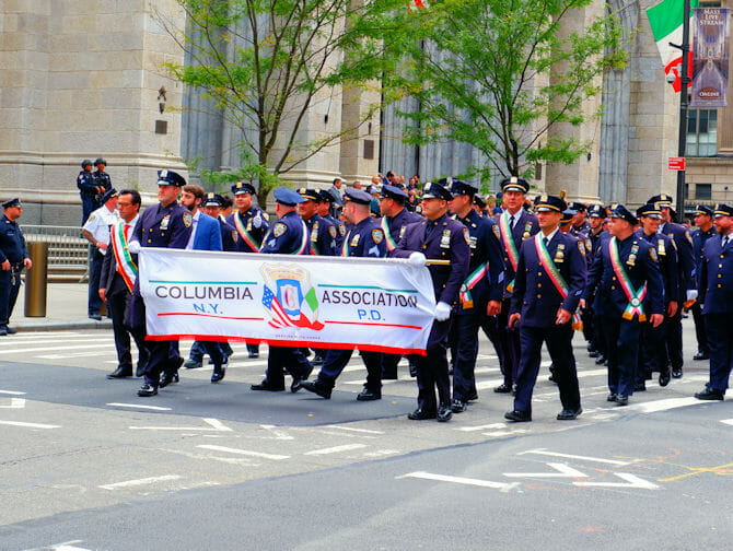 Columbus Day i New York - Columbia Association