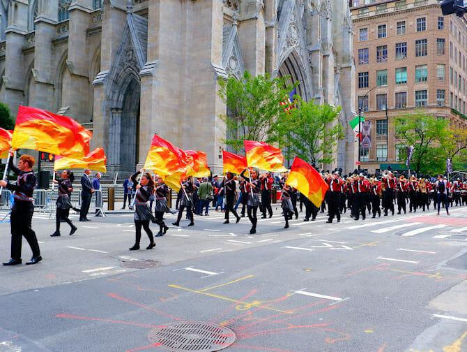 Columbus Day i New York - Parad
