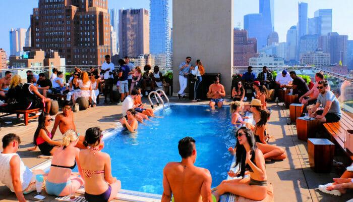 Rooftop Bar i New York