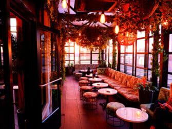 Rooftop Bars i New York - Gansevoort Hotel