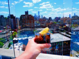 Rooftop Bars i New York - Utsikt från Gansevoort Hotel