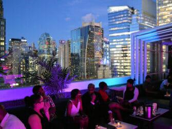 Rooftop Bar i NYC - Skyroom View