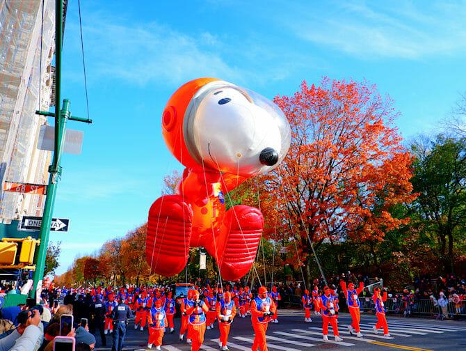 Thanksgiving i New York - Snobben ballong