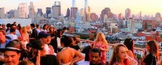 Bästa takbarer i New York