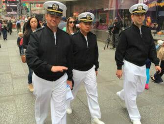 Fleet Week i NYC - Sjömän