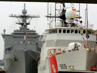 Fleet Week i NYC - Skepp