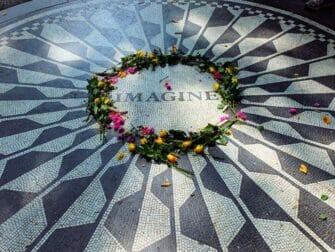 Central Park Movie guidad rundvandring NYC - Strawberry Fields