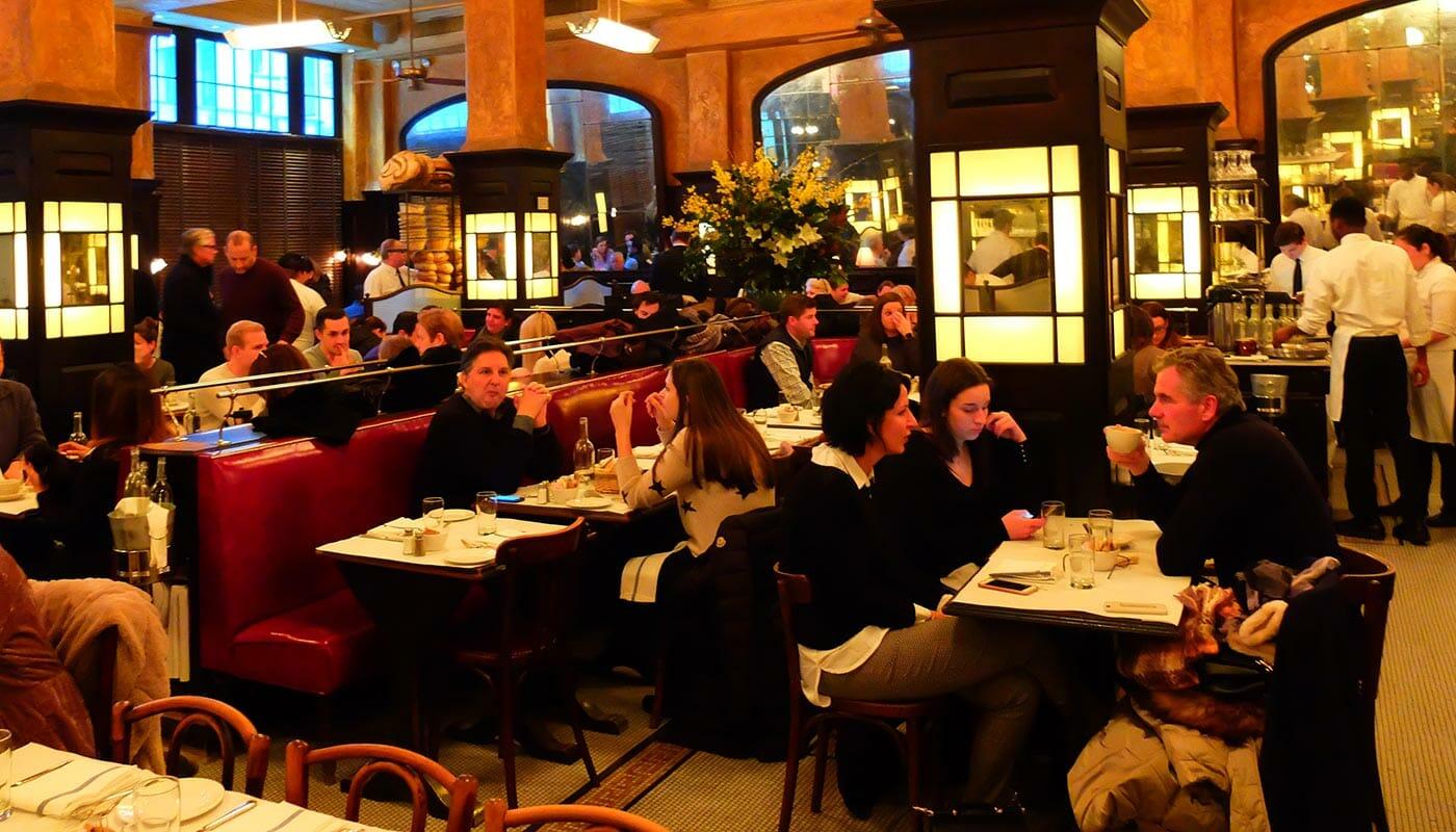 Romantiska restauranger och barer i New York - Balthazar