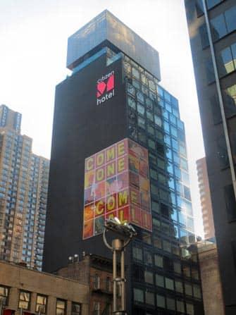 citizenM Hotel i NYC - Byggnad