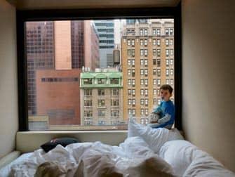 citizenM Hotel i NYC - Utsikt