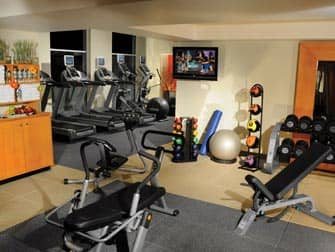 DoubleTree Suites Hotel i NYC - Gym