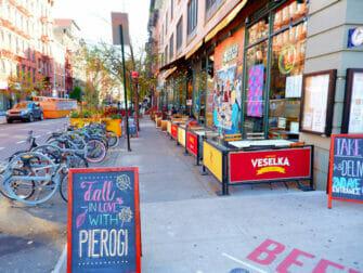 East Village i NYC - 2nd Avenue