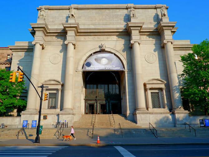 Nyårsdagen i New York - American Museum of Natural History