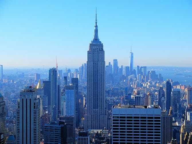 Nyårsdagen i New York - Utsikt från Top of the Rock