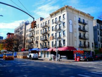 East Village i NYC - Taxibilar