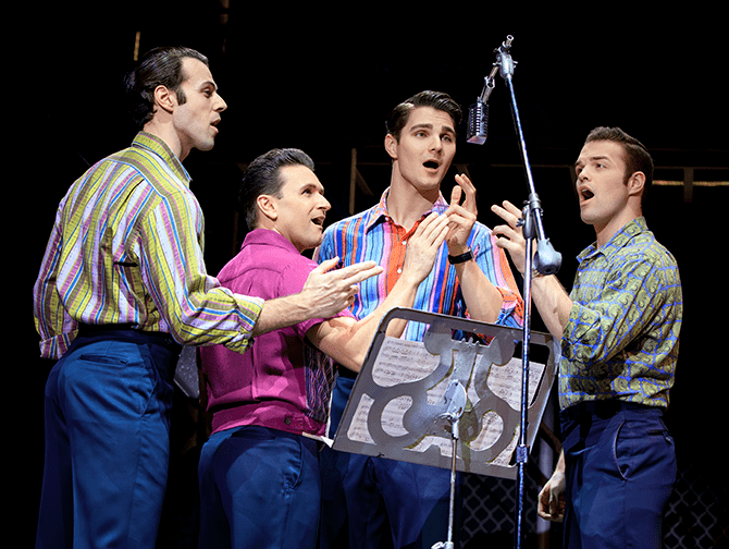 Biljetter till Jersey Boys i New York - Frankie Valli and The Four Seasons