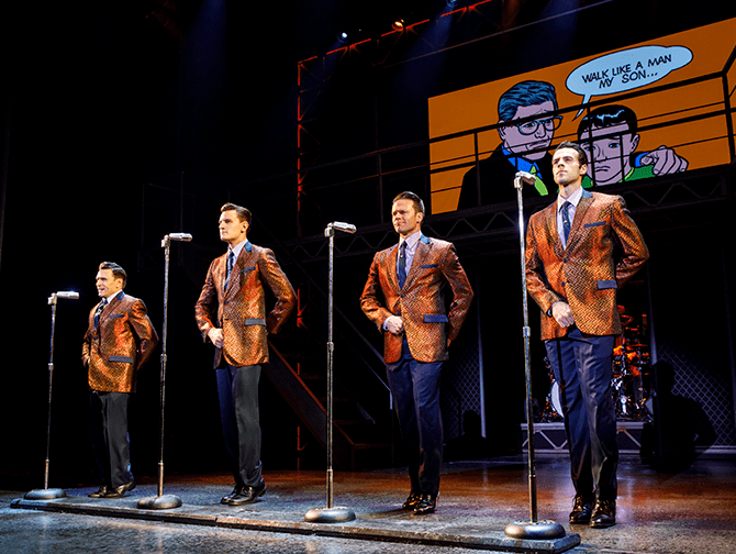 Biljetter till Jersey Boys i New York - Show