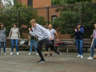 Hip Hop Tours i NYC - Dancing in the streets