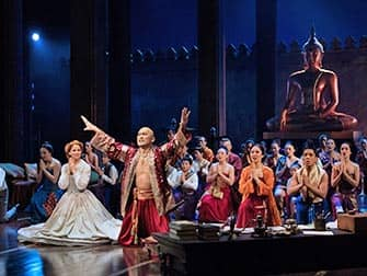The King and I på Broadway - Skådespelare