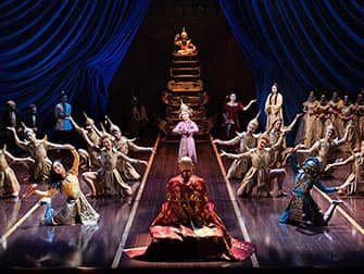 The King and I på Broadway - musikalen