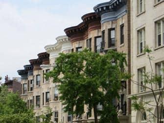 Brooklyn Tour - Prospect Park hus