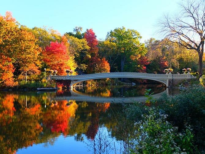 Central Park Movie Sites rundvandring   Bow Bridge