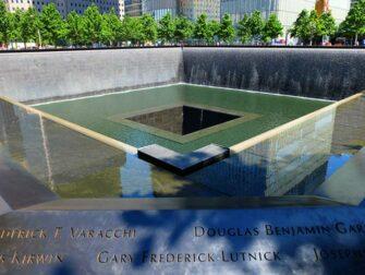 Financial District Tour i NYC - 911 Memorial