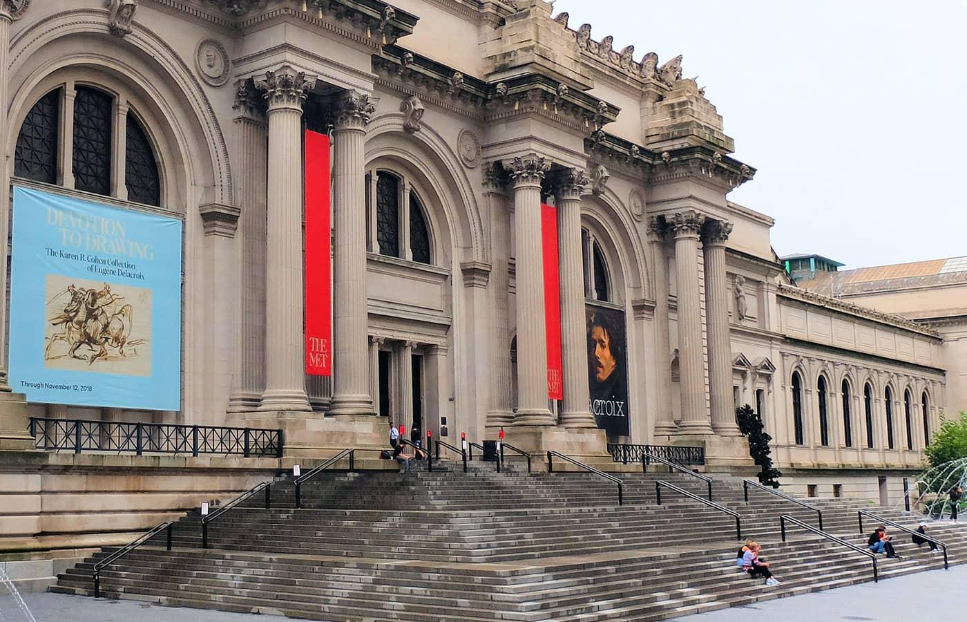 Gossip Girl rundtur - Trapporna vid The Met