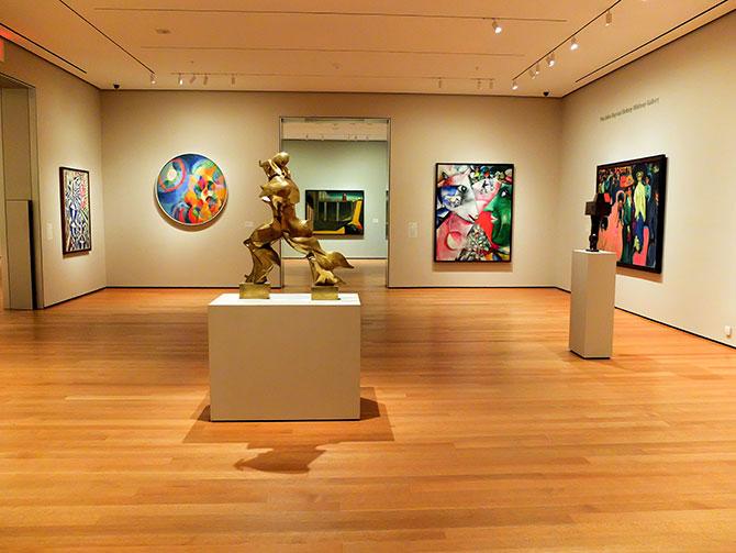 MoMA Museum of Modern Art i New York - Museum utan besökare