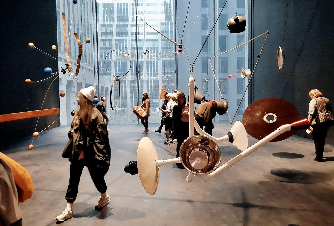 MoMA Museum of Modern Art i New York - Installation