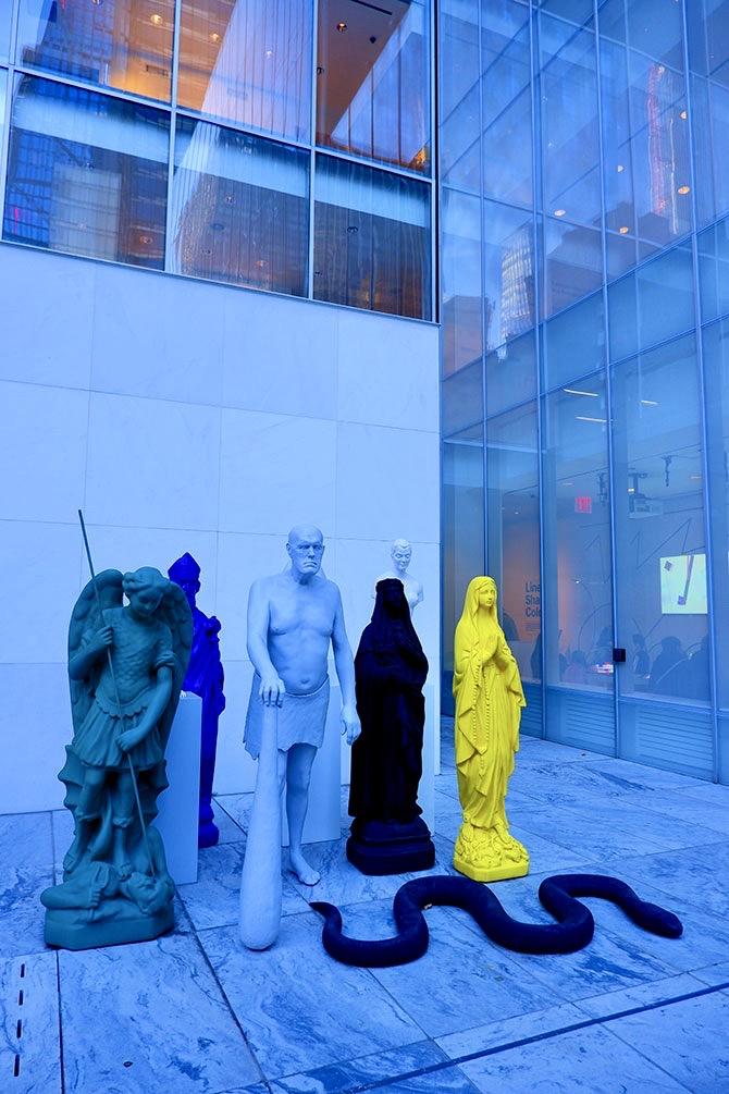MoMA Museum of Modern Art i New York - Skulpturer