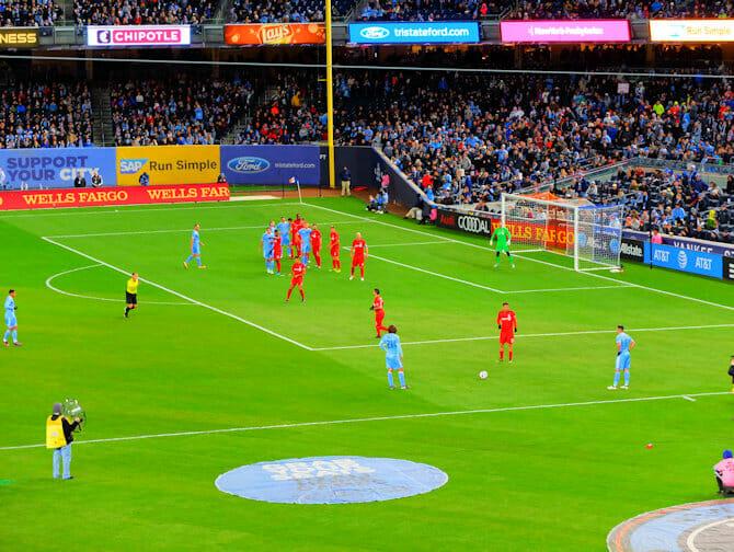 New York City FC - Fotbollsmatch