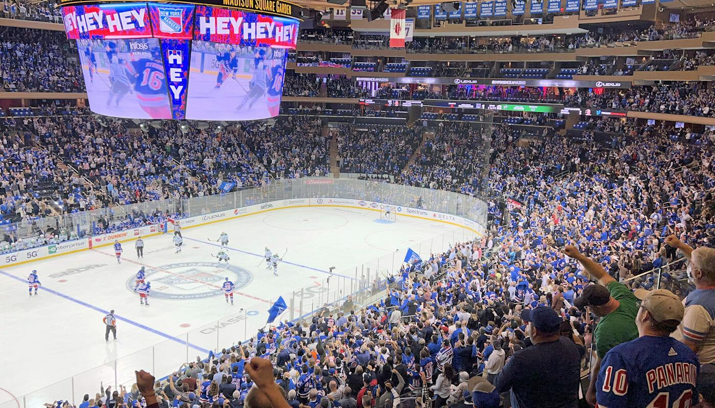 Bästa planeringen inför en New York Rangers match - Madison Square Garden