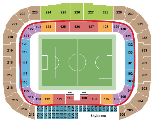 New York Red Bulls biljetter - Red Bull Arena platskarta