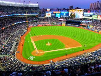 New York Yankees biljetter - Spelplan