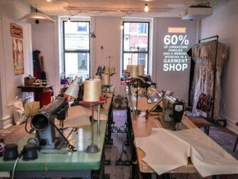 Tenement Museum - aaterskapad kinesisk klädfabrik