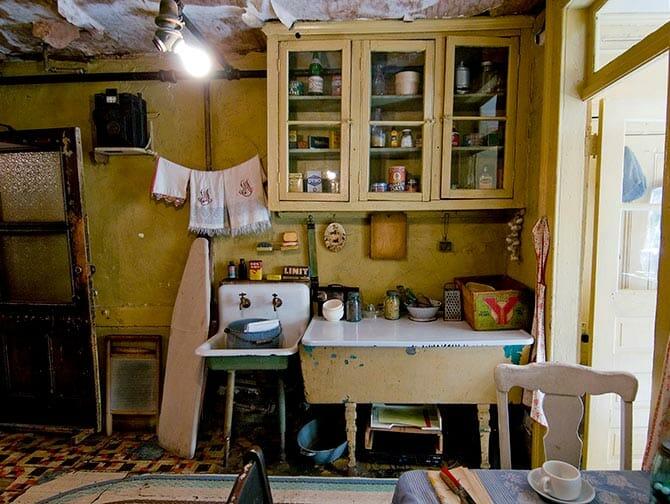 Tenement Museum i New York - Baldizzi Kitchen