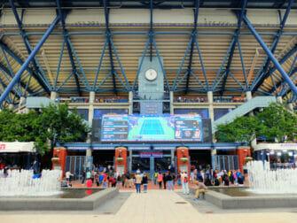 US Open Tennis biljetter - Arthur Ashe entrén