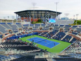 US Open Tennis biljetter - Arthur Ashe Stadium från Grandstand