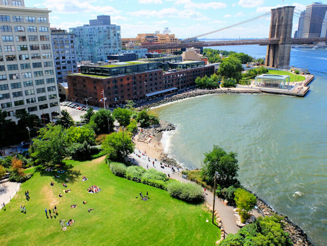 Brooklyn Bridge Park i New York