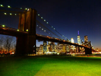 Brooklyn Bridge Park i New York - Brooklynbron