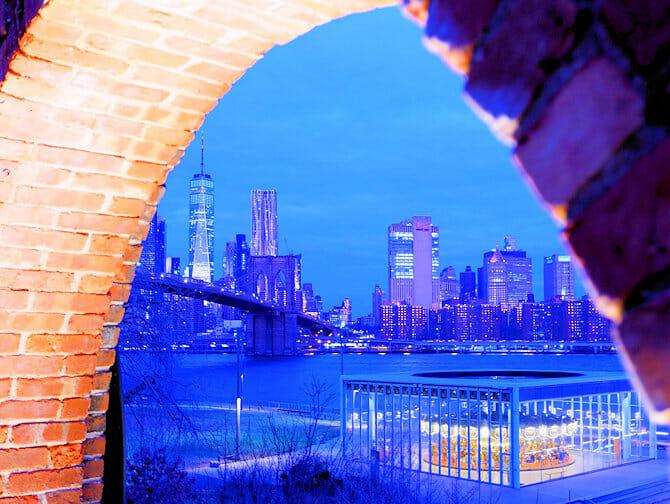 Brooklyn Bridge Park i New York - Empire Stores