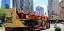 Hop on Hop off Bus i New York